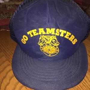 VINTAGE TEAMSTERS UNION HAT
